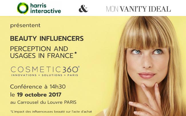 L'impact des influenceurs sur l'acte d'achat cosmétiques – Communiqué de Presse – Septembre 2017